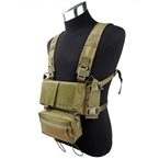 Picture of TMC Modular Lightweight Chest Rig Full Set (khaki)