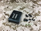 Picture of FMA 4 Hole Helmat Mount For GSGM (Black)