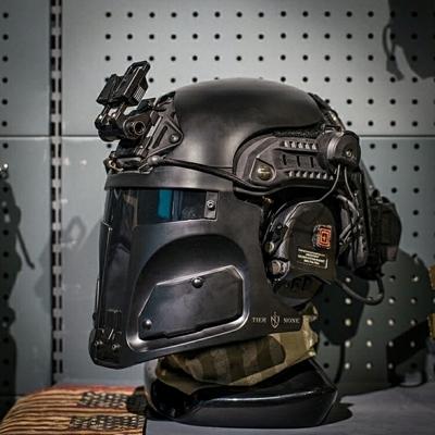 Picture of TIER NONE LT R500 Plastic Mask (Black)