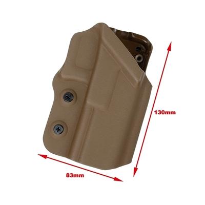 Picture of TMC 0305 Kydex Holster G17 G18C G19 G18 Ver For Belt (DE)
