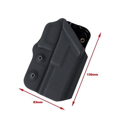 Picture of TMC 0305 Kydex Holster G17 G18C G19 G18 Ver For Belt (Black)