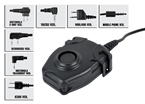 Picture of Z Tactical Peltor Headset Cable & PTT (Adapter optional)