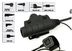 Picture of Z Tactical U94 New Version Headset Cable & PTT (Adapter optional)
