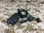 Picture of Earmor Military Adapter PTT for Kenwood Version (Black)