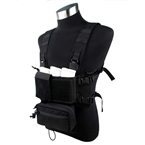 Picture of TMC Modular Lightweight Chest Rig Full Set (Black)