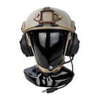 Picture of TMC RAC Headset For Helmet (Black)