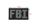 Picture of TMC Tactical FBI Patch (Black)