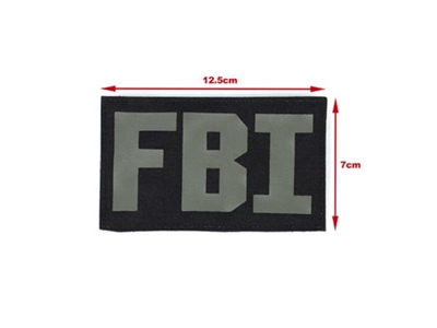Picture of TMC Tactical FBI Patch (Black)