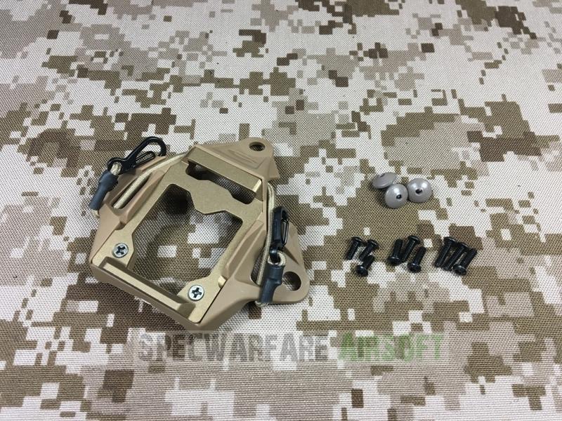 Picture of FMA Modular Bungee Shroud Helmet Mount (DE) Fast Wilcox AOR1