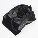 Picture of FMA Fast Type Ballistic Helmet Cover (Black) (M/L)