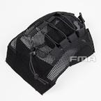 Picture of FMA Fast Type Ballistic Helmet Cover (Black) (L/XL)