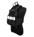 Picture of TMC 420 Plate Carrier - Black