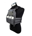 Picture of TMC 420 Plate Carrier - Wolf Grey