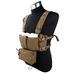 Picture of TMC Modular Lightweight Chest Rig Full Set (CB)