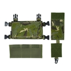 Picture of TMC Modular Lightweight Chest Rig Front Set (Multicam Tropic)