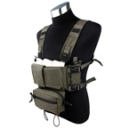 Picture of TMC Modular Lightweight Chest Rig Full Set (RG)