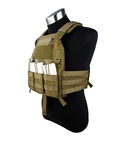Picture of TMC 420 Plate Carrier - Khaki