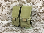 Picture of FLYYE Molle Double M14 Mag Pouch (Coyote Brown)
