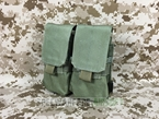 Picture of FLYYE Molle Double M14 Mag Pouch (Ranger Green)