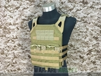 Picture of FLYYE Swift Plate Carrier JPC Vest (Size M Coyote Brown)