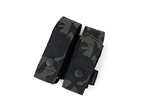 Picture of TMC Adjustable Double 40mm Grenade Pouch (Multicam Black)