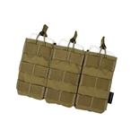 Picture of TMC Tactical Open-Top Triple Mag Pouch (Khaki)