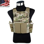 Picture of TMC Low Vision MBAV Plate Carrier (Multicam)