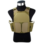 Picture of TMC Low Vision MBAV Plate Carrier (Khaki)