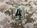 Picture of Warrior Dummy A POS Blood Type Patch IR Reflective (Multicam) (Free shipping)