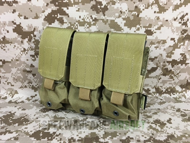 Picture of FLYYE Triple M4/M16 Mag Pouch (Coyote Brown)