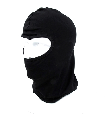 Picture of TMC Single Hole Cotton Balaclava (Black) (Free Shipping)