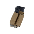 Picture of TMC Lightweight 5.56 + Double 9mm Tall PWI Mag Pouch Set (CB)