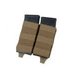 Picture of TMC Lightweight Double 5.56 Tall PWI Mag Pouch Set (CB)