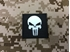Picture of Warrior Punisher Skull Navy Seal Patch (Black) (Free Shipping)