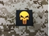 Picture of Warrior Luminous Punisher Skull Navy Seal Patch (Black) (Free Shipping)