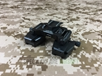 Picture of SOTAC Wilcox Type Bino-Bridge SM-2 Mount CNC (Marking Ver) (Black) NVG Fast Mich