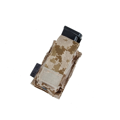 Picture of TMC Molle Hard Shell Single Pistol Pouch (AOR1)