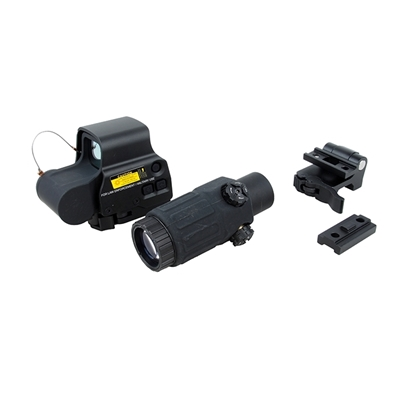Picture of FEDOM  EOTECH Style EXPS3 Red Dot Sight + G33 3X Magnifier Set (Black)