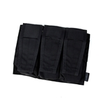 Picture of TMC Assault Vest System Triple Mag Pouch (Black)