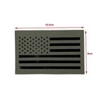 Picture of TMC Large US Flag Infrared Patch (RG) (Free shipping)