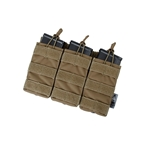 Picture of The Black Ships Tactical Open-Top Triple Mag Pouch (CB)