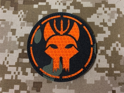 Picture of Warrior SEAL Team Reflective Patch (Multicam Black) (Free Shipping)