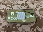 Picture of EMERSON Luminous B POS Blood Type Patch (Multicam) (Free Shipping)
