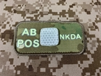 Picture of EMERSON Luminous AB POS Blood Type Patch (Multicam) (Free Shipping)