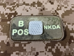 Picture of EMERSON Luminous B POS Blood Type Patch (A-TAC) (Free Shipping)