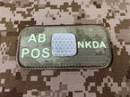 Picture of EMERSON Luminous AB POS Blood Type Patch (A-TAC) (Free Shipping)