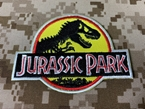 Picture of Warrior Jurassic Park Embroidered Patch (Yellow) (Free Shipping)