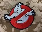 Picture of Warrior Ghostbusters Embroidered Patch (RED) (Free Shipping)