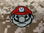 Picture of Warrior Super Mario Brothers Embroidered Patch (Free Shipping)