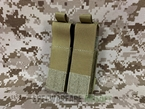 Picture of FLYYE Molle Double .45 Pistol Magazine Pouch (Coyote Brown)